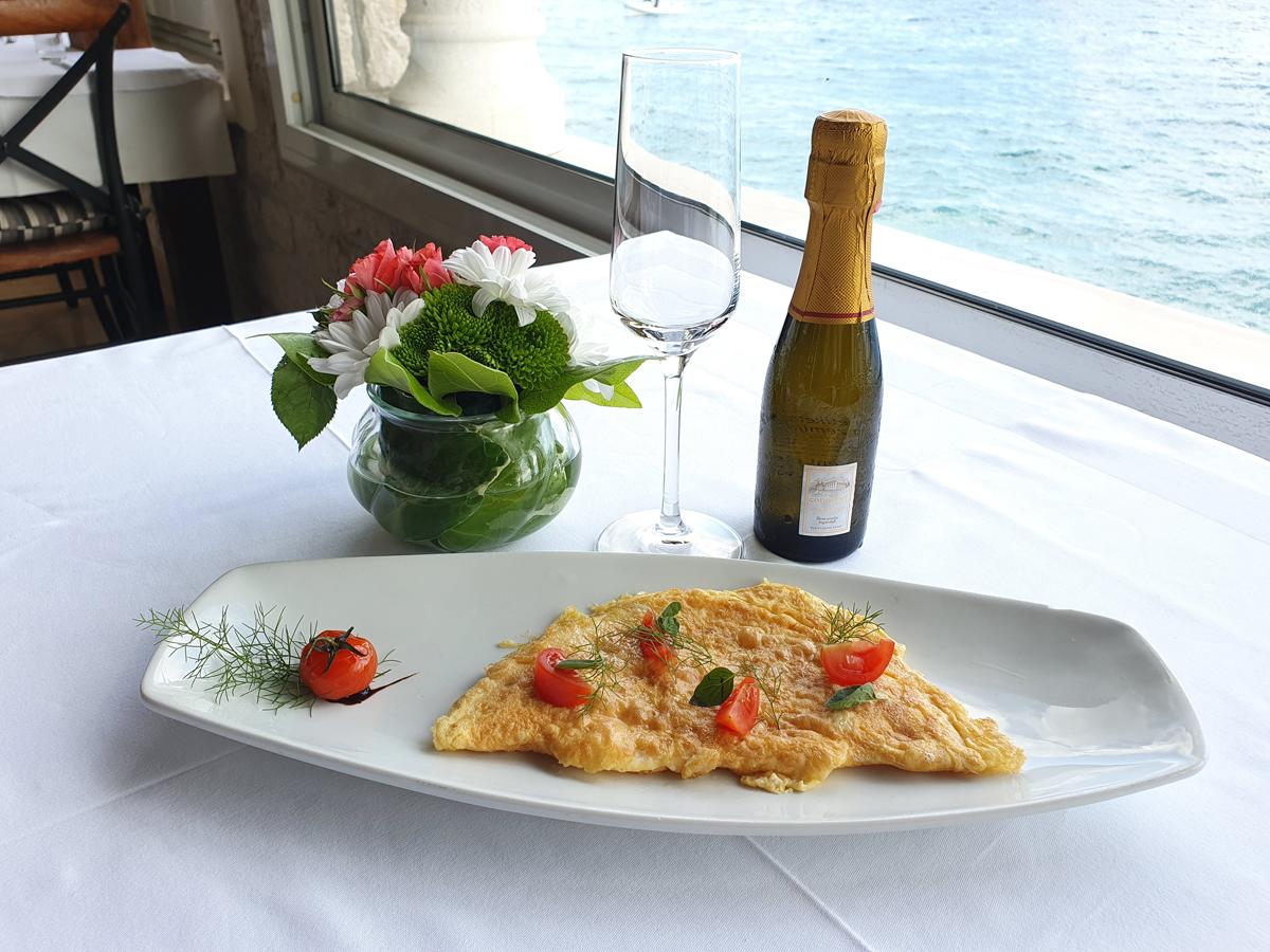 Omlet (ham-cheese)